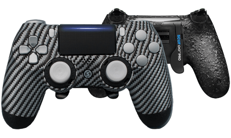 PlayStation 4 professional controller Infinity4PS PRO Carbon fiber Graphite