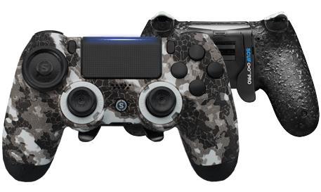 PlayStation 4 professional controller Infinity4PS PRO Digital Camo Artic