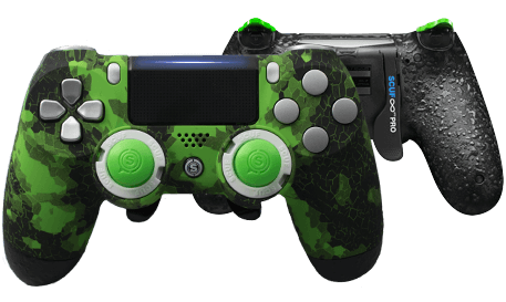 PlayStation 4 professional controller Infinity4PS PRO Digital Camo Green