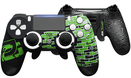 PlayStation 4 professional controller Infinity4PS PRO Optic Greenwall