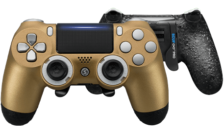 PlayStation 4 professional controller Infinity4PS PRO Gold