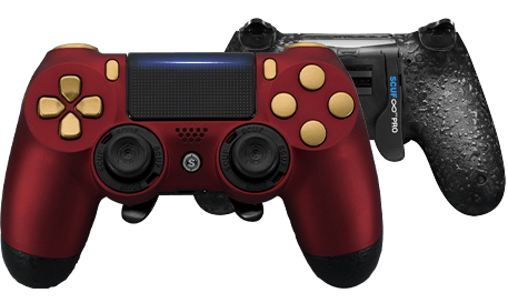 PlayStation 4 professional controller Infinity4PS PRO Ruby