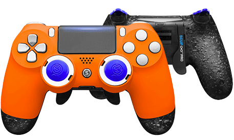 PlayStation 4 professional controller Infinity4PS PRO Orange