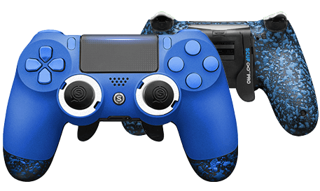 PlayStation 4 professional controller Infinity4PS PRO blue