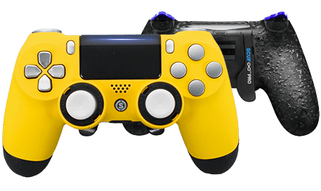 PlayStation 4 professional controller Infinity4PS PRO yellow hornet
