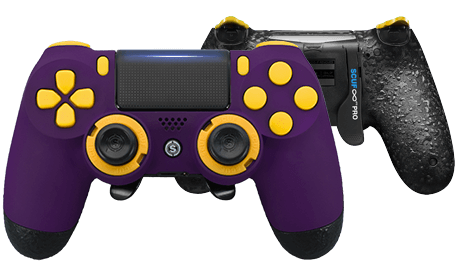 PlayStation 4 professional controller Infinity4PS PRO purple