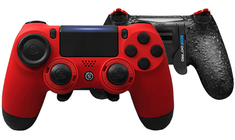 PlayStation 4 professional controller Infinity4PS PRO Red