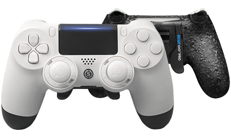 PlayStation 4 professional controller Infinity4PS PRO white
