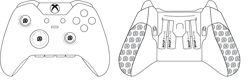 Scuf gaming, instructions, custom controller, professional gaming, esports