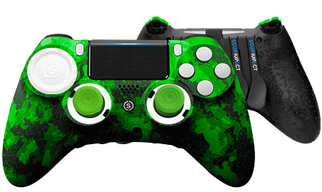 PlayStation 4 professional controller SCUF IMPACT Digital Camo Green