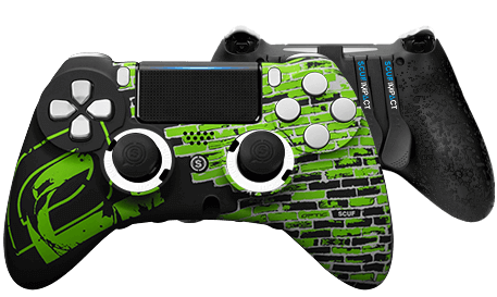 PlayStation 4 professional controller SCUF IMPACT Optic GreenWall
