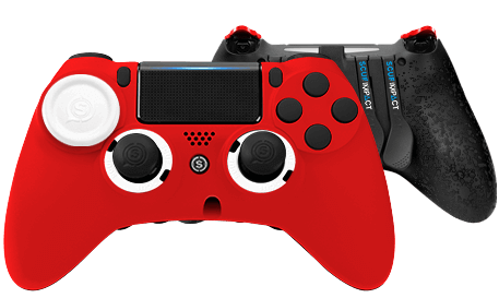 PlayStation 4 professional controller SCUF IMPACT Red