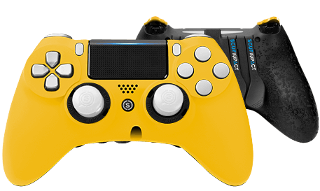 PlayStation 4 professional controller SCUF IMPACT Yellow