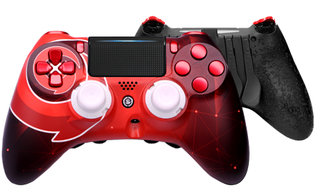Gotaga Controller Front and Back View
