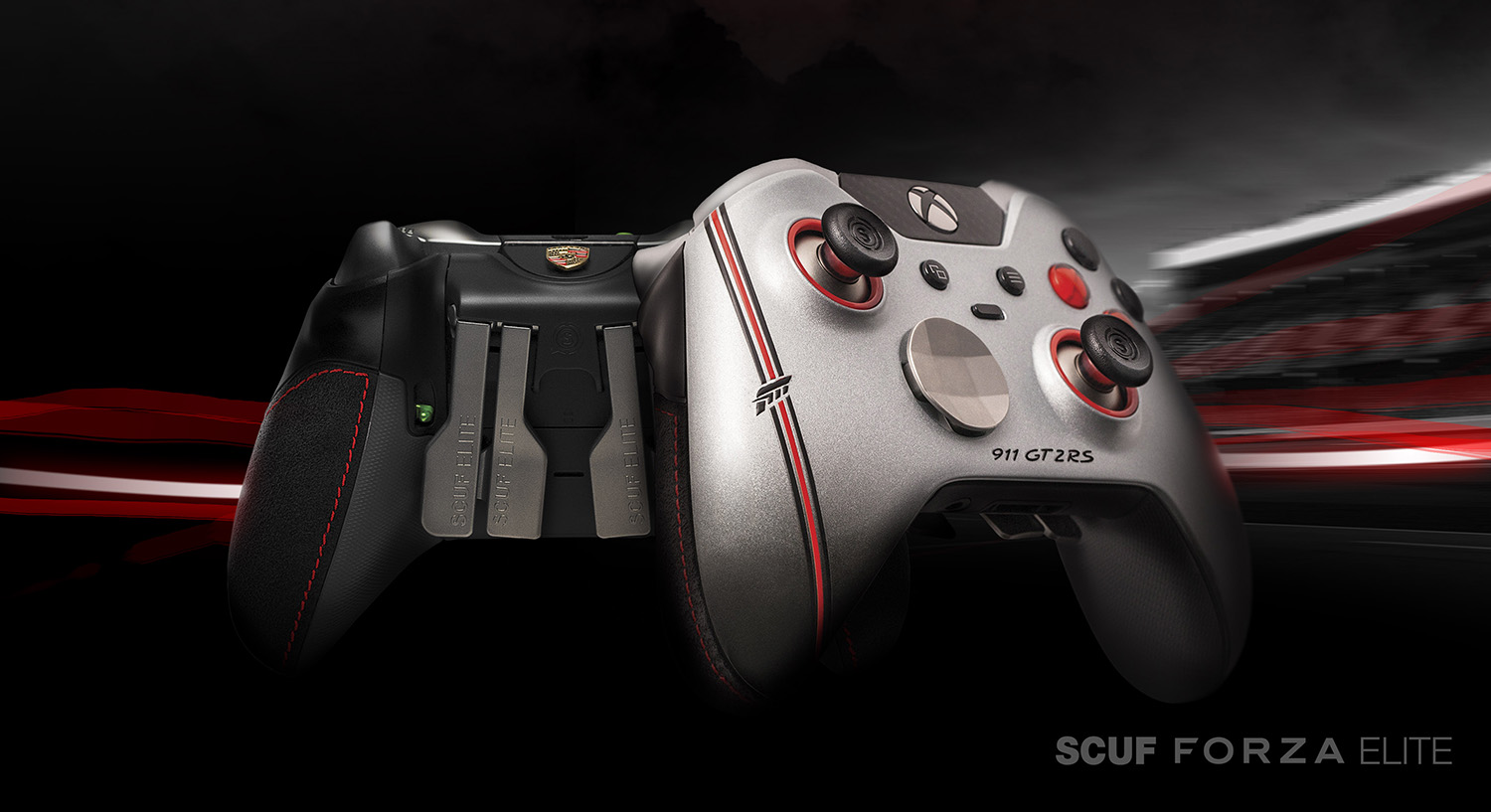 scuf gaming designs collector s edition 911 gt2 rs inspired scuf forza elit. Black Bedroom Furniture Sets. Home Design Ideas