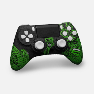 ps4-scuf-custom-impact-crimsix-green