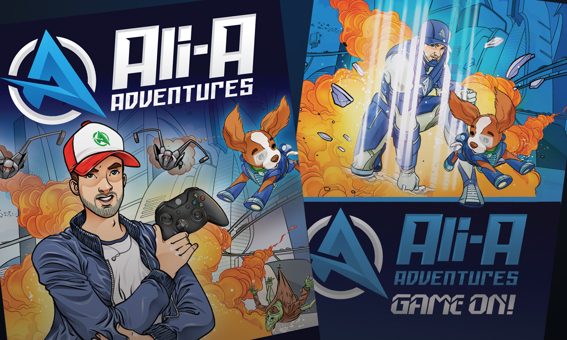 Ali-A_Game-On book covers US UK
