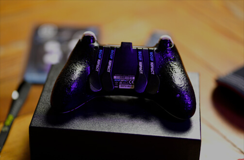 Scuf CiccioGamer89 PS4 Controller Back View