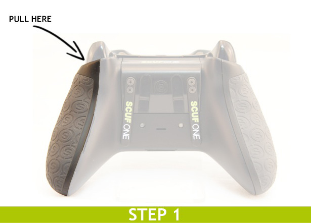 SCUF One Trigger setup step 1