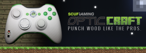 Opticcraft header wood grain