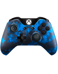 front SCUF ONE DIGITAL CAMO BLUE