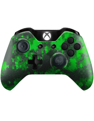 front SCUF ONE DIGITAL CAMO GREEN