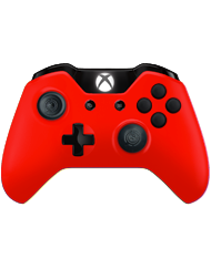 front SCUF ONE RED