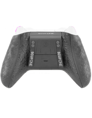 back SCUF ONE WHITEOUT