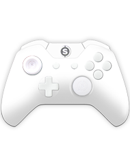 front SCUF ONE WHITEOUT