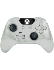 front SCUF ONE Chromatic Silver