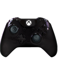 front SCUF ONE Chromatic Black