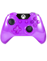 front SCUF ONE Chromatic Purple
