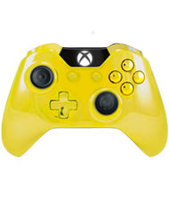 front SCUF ONE Chromatic Yellow