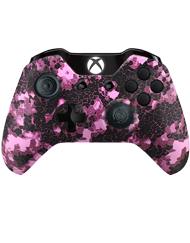 front SCUF ONE DIGITAL CAMO PINK