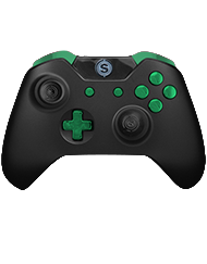 front SCUF ONE FPS Colors Chrome