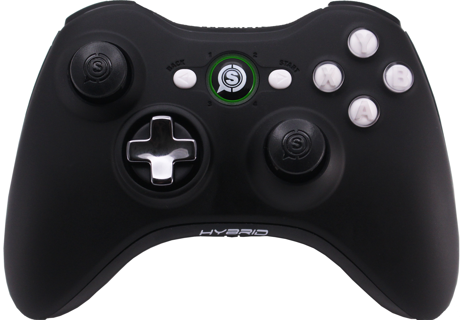 scuf hybrid custom competitive controller for xbox 360 scuf gaming. Black Bedroom Furniture Sets. Home Design Ideas