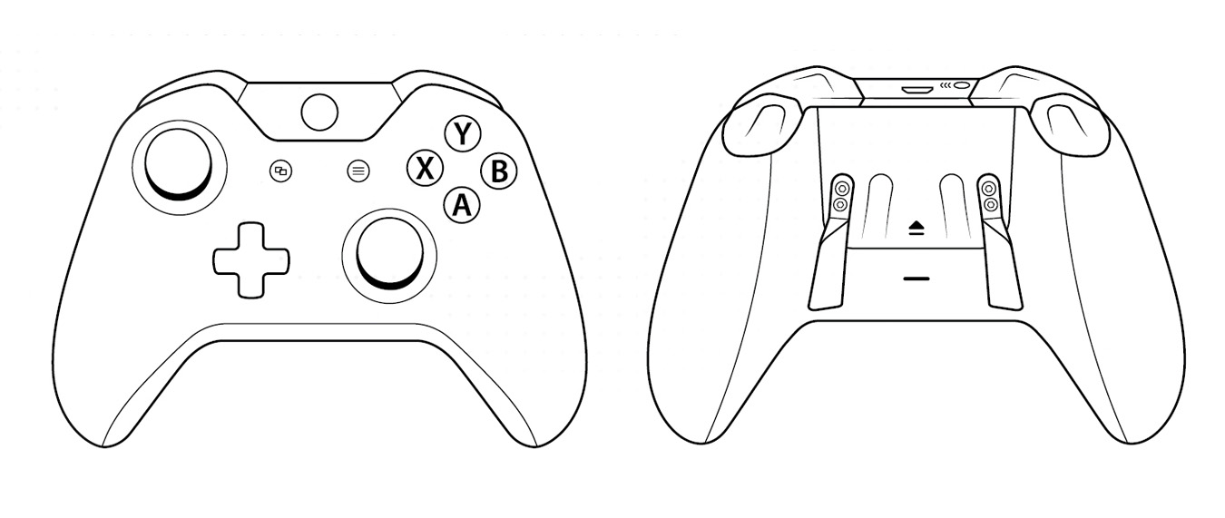 SCUF One controller outlines