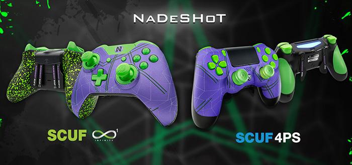 Nadeshot SCUF custom controllers