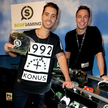 Nick Fradiani SCUF Grammys Gift Lounge