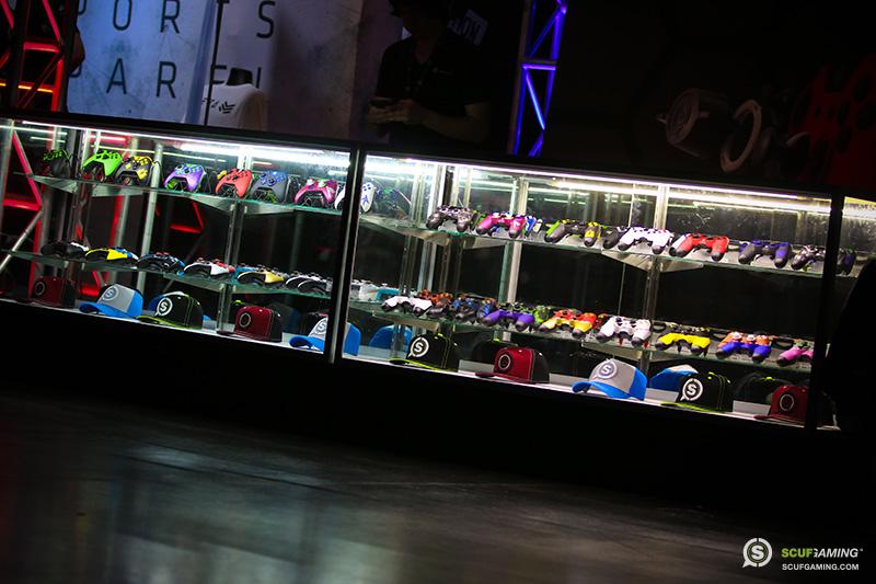 MLG Anaheim SCUF booth